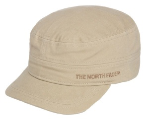 Czapka The North Face LOGO MILITARY HAT dune beige SM
