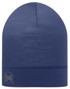 Czapka Buff WOOL HAT solid dark night