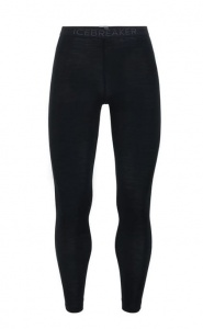 Kalesony męskie Icebreaker 260 TECH LEGGINGS black/monsoon
