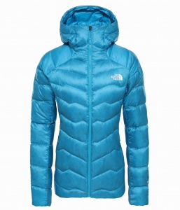 Kurtka Damska The North Face Impendor Down HD chlorophy II acoustic blue
