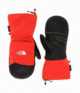 Łapawice The North Face Summit Belay Mitt fiery red