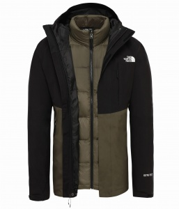 Kurtka Męska The North Face Mountain Light Triclimate new taupe green/tnf black