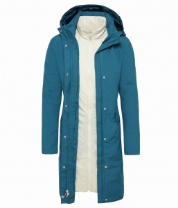 Płaszcz Damski The North Face Suzanne Triclimate™ Trench blue coral