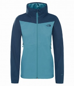Kurtka Damska The North Face Resolve Plus DryVent storm blue/blue wing