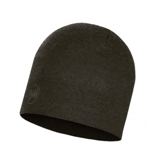 Czapka Buff WOOL HAT MID forest night melange