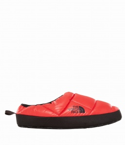 Kapcie Męskie The North Face NSE Tent Mule Slippers III shiny tnf red/black