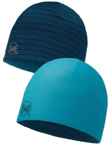 Czapka Buff WOOL HAT Reversible blue capri
