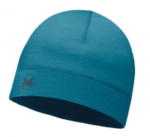 Czapka Buff WOOL HAT solid lake blue