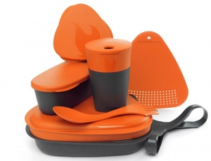Zestaw naczyń Light My Fire MealKit 2.0 orange