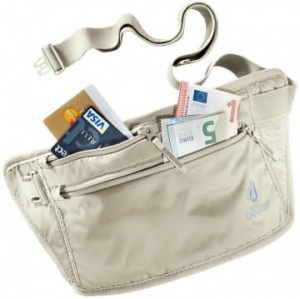 Saszetka Deuter Security Money Belt II sand
