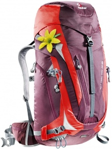 Plecak Deuter ACT Trail 38 SL aubergine-fire
