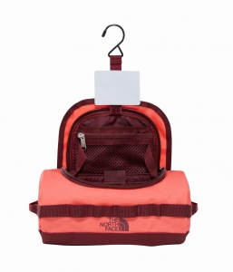 Kosmetyczka The North Face Base Camp Travel Canister Small cayenne red/regal red