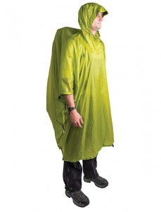 Poncho Sea To Summit Ultra-Sil Nano Tarp Poncho lime