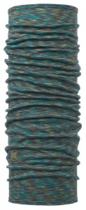 Chusta Buff  MERINO WOOL LIGHT blue multi