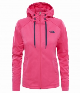 Bluza damska The North Face TECH MEZZALUNA HD petricoat pink S