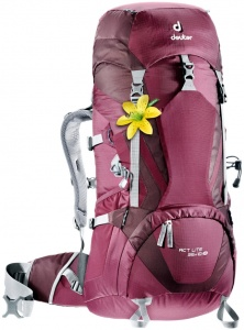 Plecak Deuter ACT Lite 35+10 SL blackberry-aubergine