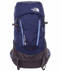 Plecak damski The North Face Terra 55 patriot blue/persian jewel XS/S