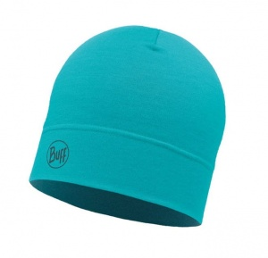 Czapka Buff WOOL HAT MID solid turquoise
