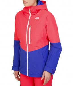 Kurtka Damska The North Face Gonza Jacket rambutan blue/tech blue L