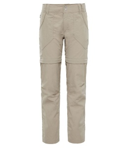 Spodnie Damskie The North Face Horizon Convertible Plus dune beige 12 REG
