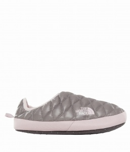 Kapcie Damskie The North Face THERMOBALL TENT MULE IV shiny frost/burn shade lilac