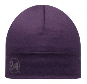 Czapka Buff WOOL HAT LIGHT plum