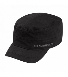 czapka LOGO MILITARY HAT tnf black SM