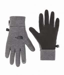Rękawiczki Damskie The North Face Etip Glove medium grey haather