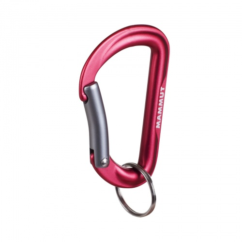 Karabinek Mammut Mini Biner Element red