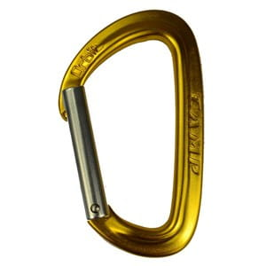 Karabinek Camp Orbit Straight Gate gold