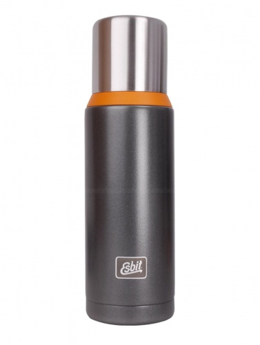 Termos Esbit Vacuum Flask Plus dark grey/orange