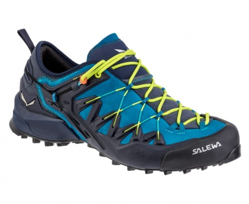 Buty Męskie Salewa MS Wildfire Edge premium navy/fluo yellow