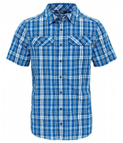 Koszula Męska The North Face Pine Knot Shirt monster blue plaid XL
