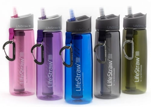Filtr do wody z Butelką LifeStraw Go 2-stage pink
