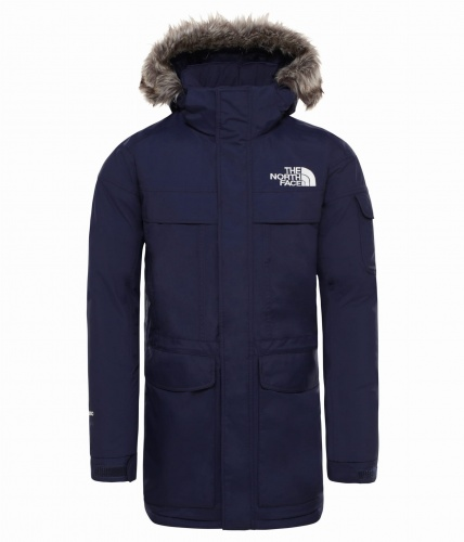 Kurtka Męska The North Face McMurdo Parka montague blue DV
