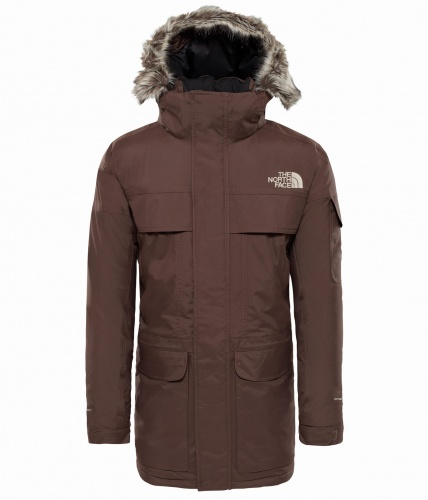 Kurtka Męska The North Face McMurdo Parka bracken brown