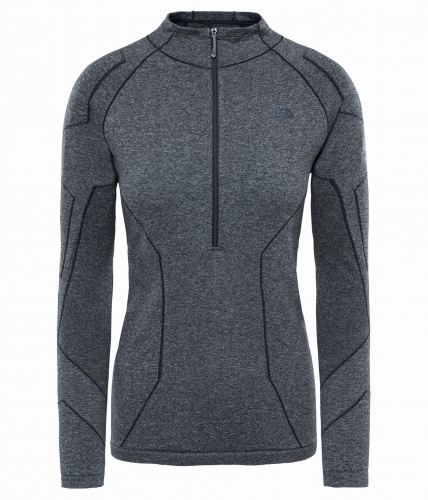 Koszulka damska The North Face L1 Top tnf black heather