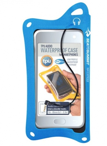 Pokrowiec Sea To Summit TPU GUIDE AUDIO SMARTPHONE CASE blue