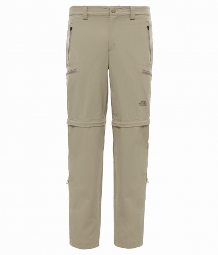 Spodnie Męskie The North Face Exploration Convertible Pant dune beige 30