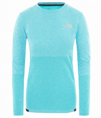 Koszulka Damska The North Face SMT L1 ENG TOP bluebird heather