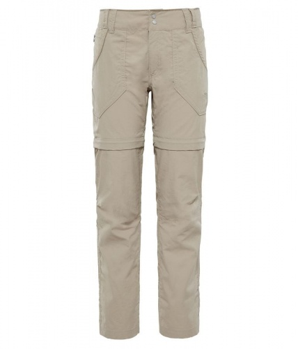 Spodnie Damskie The North Face Horizon Convertible Plus dune beige REG
