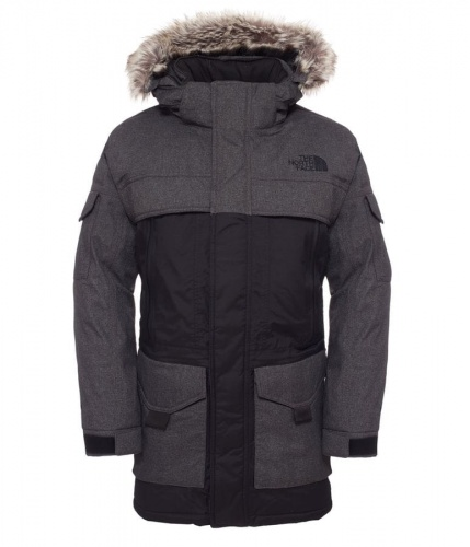 Kurtka Męska The  North Face McMurdo Parka 2 graphite grey melange