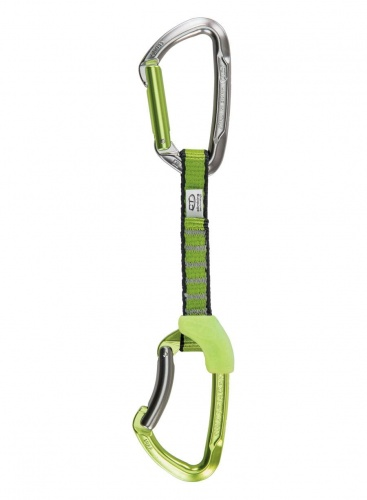 Ekspres Climbing Technology LIME SET NY 12cm anodized/silver