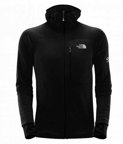 Polar Męski The North Face Summit L2 PROPRIUS Grid Fleece HD tnf black