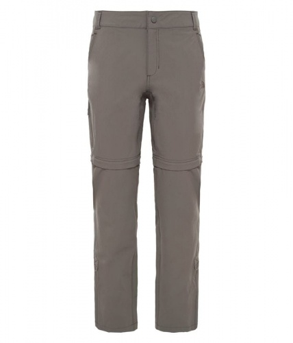 Spodnie Damskie The North Face Exploration Convertible Pant weimaraner brown