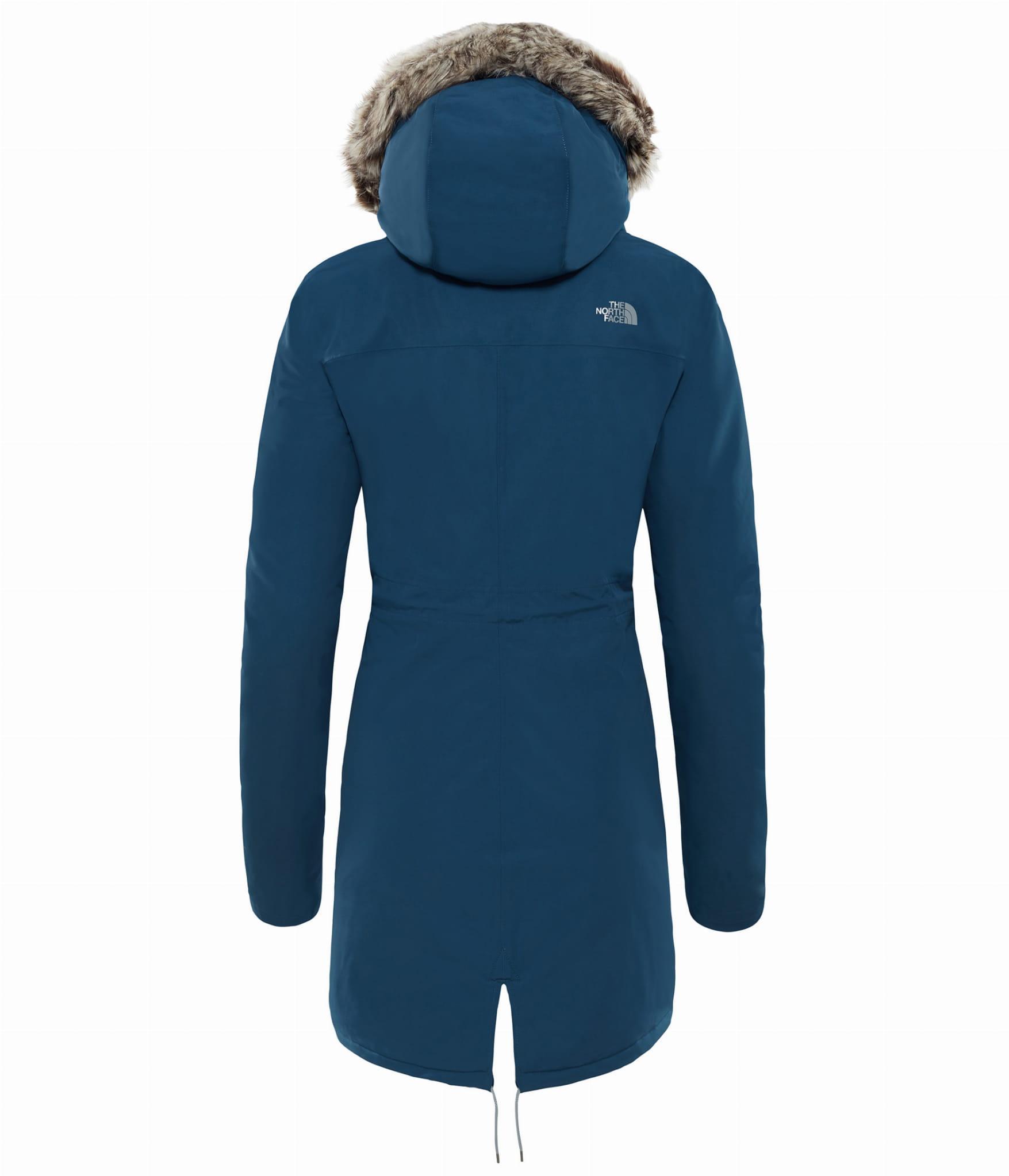 sklep z wyprzedażami Kod kuponu buty temperamentu Kurtka damska The North Face ZANECK PARKA tnf bluewindteal/bluewindteal